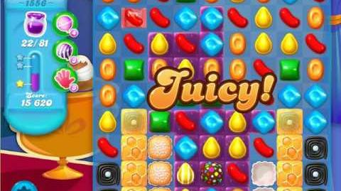 Candy Crush Soda Saga Level 1556 (2nd nerfed, 3 Stars)