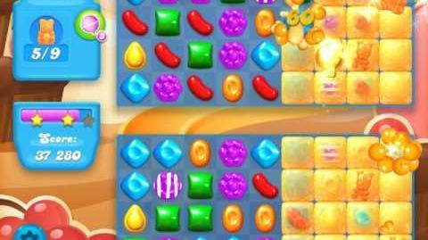 Candy Crush Soda Saga Level 96 (nerfed, 3 Stars)