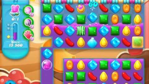 Candy Crush Soda Saga Level 94 (4th version, 3 Stars)
