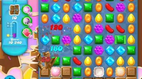Candy Crush Soda Saga Level 75 (4th version, 3 Stars)
