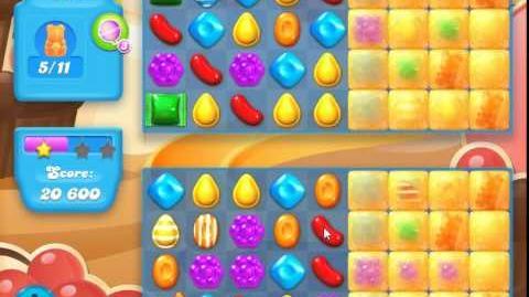 Candy Crush Soda Saga Level 96 (4th version, 3 Stars)