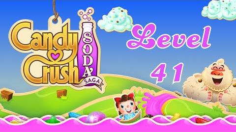 Candy Crush Soda Saga level 41 with 1 Star (Version 2)