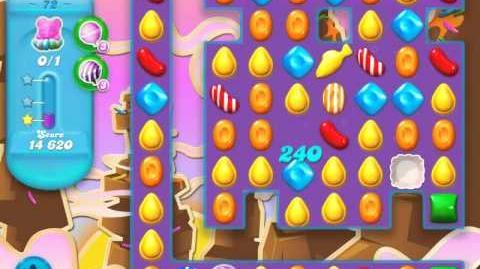 Candy Crush Soda Saga Level 72 (nerfed, 3 Stars)