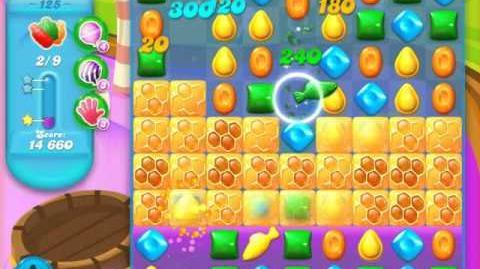 Candy Crush Soda Saga Level 125 (4th version)