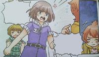 Emilia reprimanding Joni