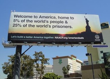 USA. 25% of world's prisoners 4