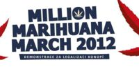 Prague, Czech Republic. Global Marijuana March
