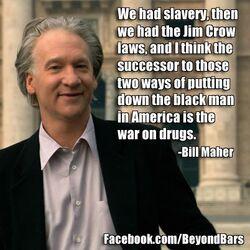Bill Maher on drug war