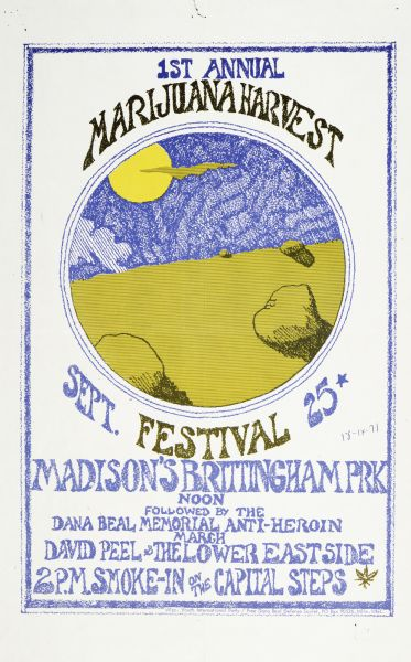 Madison 1971 Sept 25 Wisconsin 2