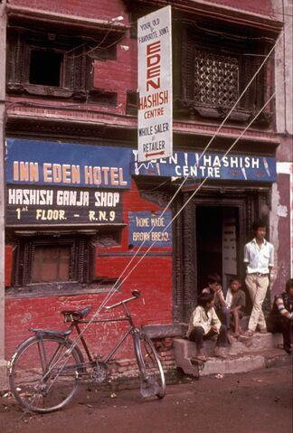 File:Kathmandu hashish shop 1973 Nepal.jpg