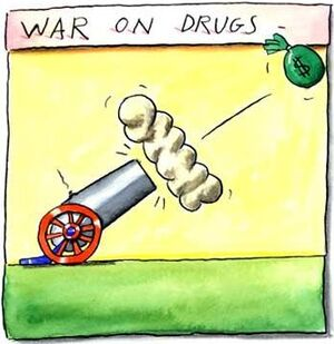 War on drugs cannon