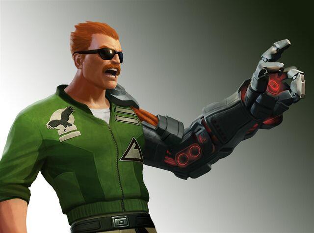 """File:Bionic Commando Rearmed 2 - Captain Nathan """"Rad"""" Spencer.jpg"""