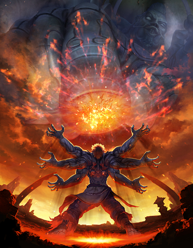 Asuras Wrath Art