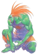 SSFII Turbo Blanka