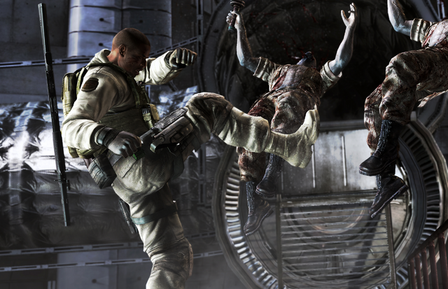 File:RE5 Josh Action.png