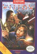 Willow Capcom NES box art