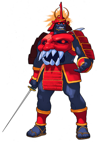 File:Darkstalkers 3 Bishamon.png