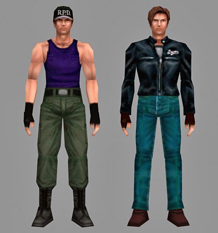 File:RE2LeonAlternateCostumes.PNG