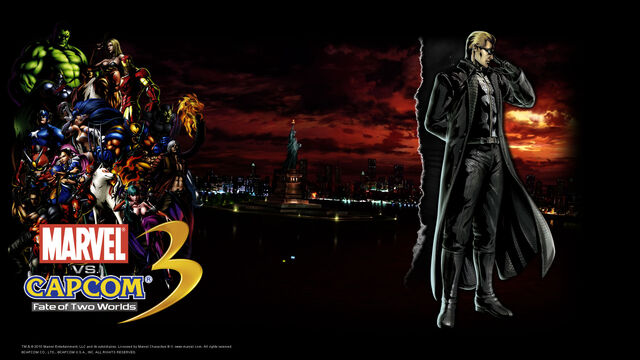 File:Marvel Vs Capcom 3 wallpaper - Albert Wesker.jpg