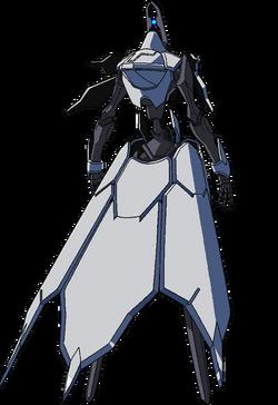 Captain Earth Wiki - Mech - Kiltgang - Type-3 -Albion - Back