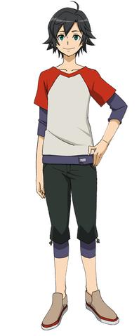 File:Captain Earth Wiki - Character - Daichi Manatsu - Casual.png