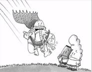 Old Captain Underpants saves Mr Krupp