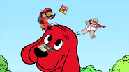 Captain Underpants, Clifford and Wordgirl