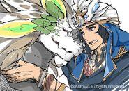 Divine Knight of Rainbow Brocade, Clotenus (Extra)