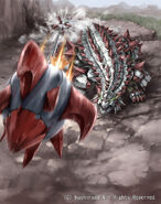 Cannon Fire Dragon, Sledgeankylo (full art)