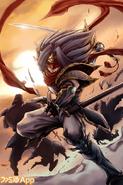 Knight of Silence, Gallatin (Full Art)
