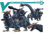 Raging Dragon, Blastsaurus (Character Unit)