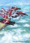 Winged dragon skyptera