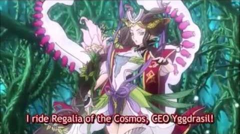 (Legion Mate) Cardfight!! Vanguard CEO Yggdrasil & Regalia of Destiny, Norn 'Legion' - HD