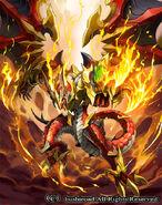 Amber Dragon, Dusk (full art)
