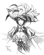 White Lily Musketeer, Cecilia (Extra)