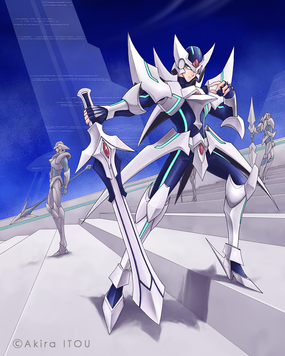 Image - Blaster Blade (Full Art).png | Cardfight ...