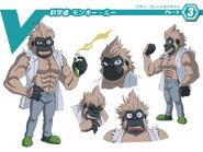 Scientist Monkey Rue (Character Unit)