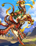 Dragon Dancer, Catharina (full art)