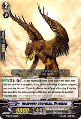 Heavenly guardian, Gryphon