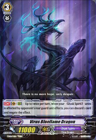 Virus Blueflame Dragon