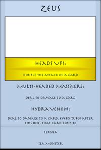 Zeus Card