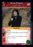 Nina Myers - Elite Mercenary (1E)