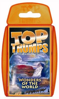 Toptrumps wondersoftheworld