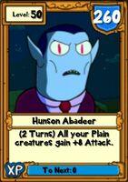 Super Hunson Hero Card