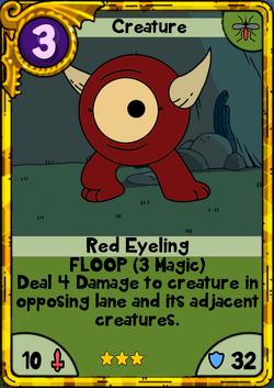 Red Eyeling Gold