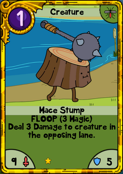 Mace Stump Gold