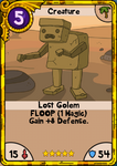 Lost Golem Gold