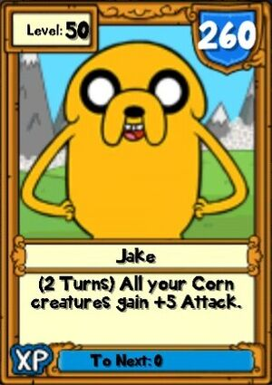Super Jake Hero Card