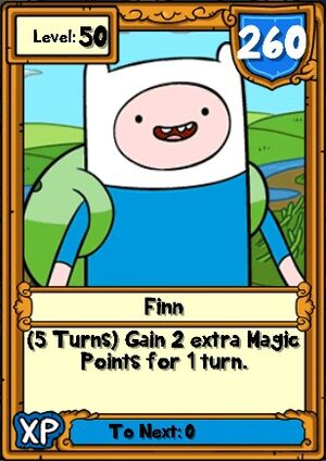 Finn Hero Card