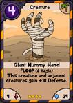 Giant Mummy Hand